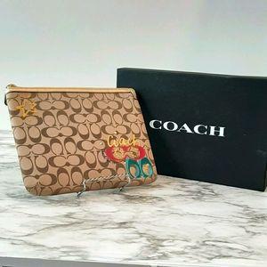 Coach laptop  tablet case sleeve